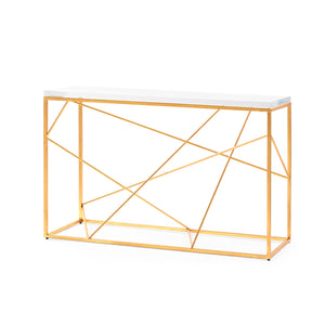 Bungalow 5 Spiro Console, Gold