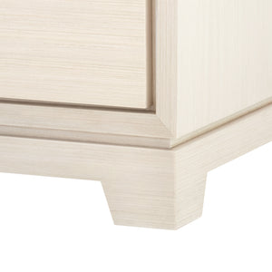 Bungalow 5 Stanford Extra Large 6-Drawer, Blanched Oak