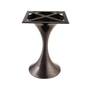 Bungalow 5 Stockholm Center Dining Table Base, Bronze