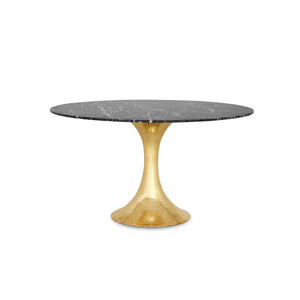 "Bungalow 5 Stockholm 52"" Nero Dining Table Top"