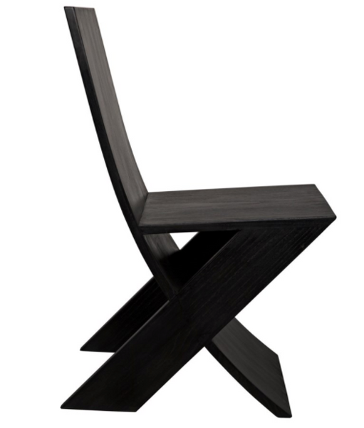 Noir Tech Chair - Charcoal Black