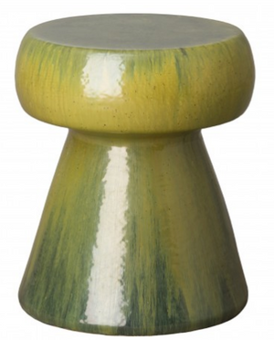 Portabello Garden Stool - Tea Green