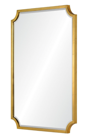 Corner Cut Mirror - Available in 3 Finishes & 2 Sizes
