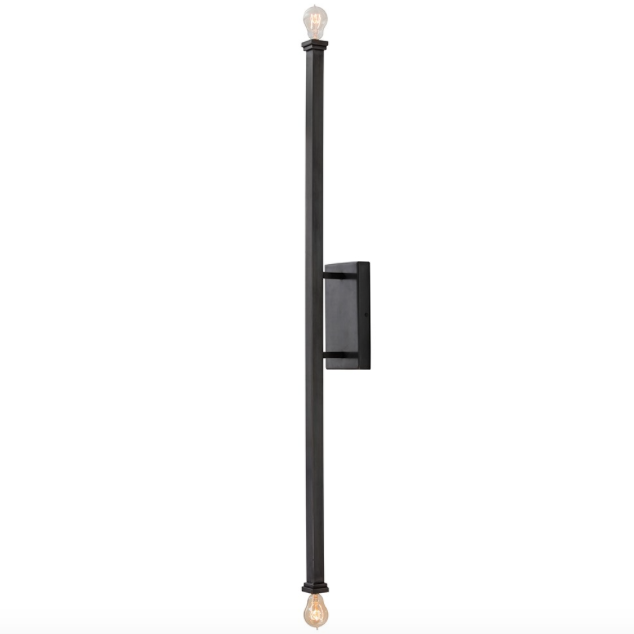 Arteriors Hutu Square Rod Wall Light