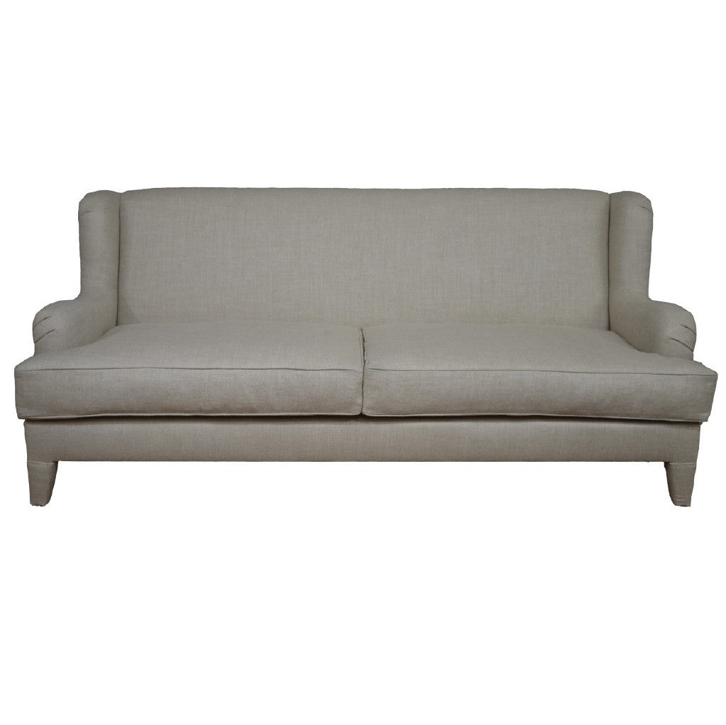 Simplicity Transitional Sofa Grey Linen Other Colors Available  ~ What Is A Transitional Sofa