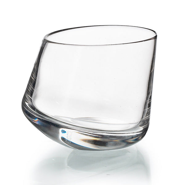 Slant Crystal Old Fashion – Set of 4
