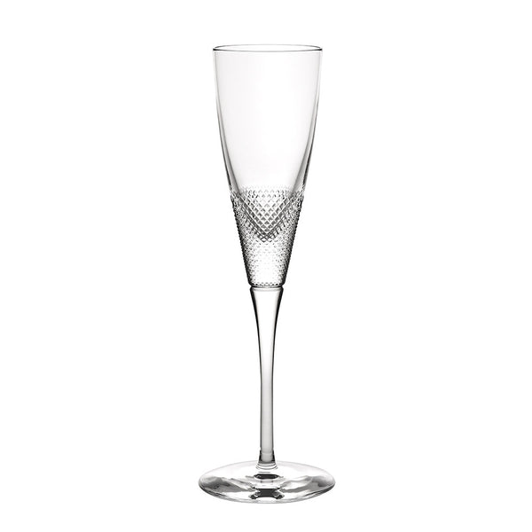 Splendour Textured Crystal Champagne Flute – Set of 4
