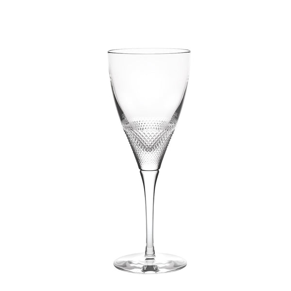 Splendour Textured Crystal Water Goblet – Set of 4