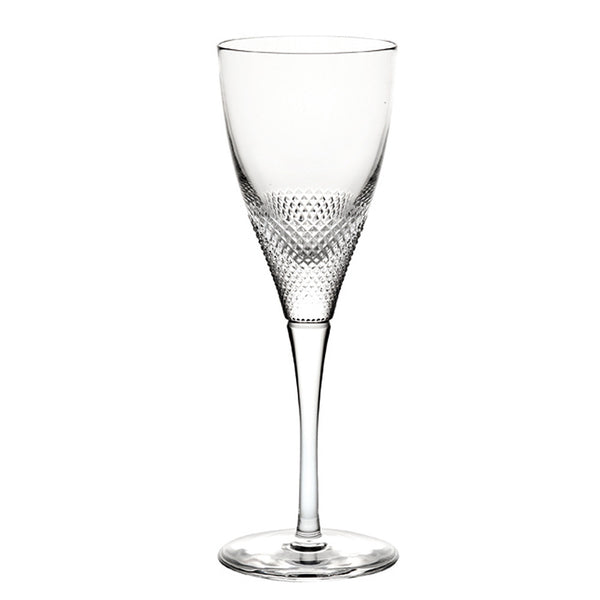 Splendour Textured Crystal White Wine Glass – Set of 4