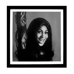 Worlds Away Square Black & White Wall Art – Tina Turner 05