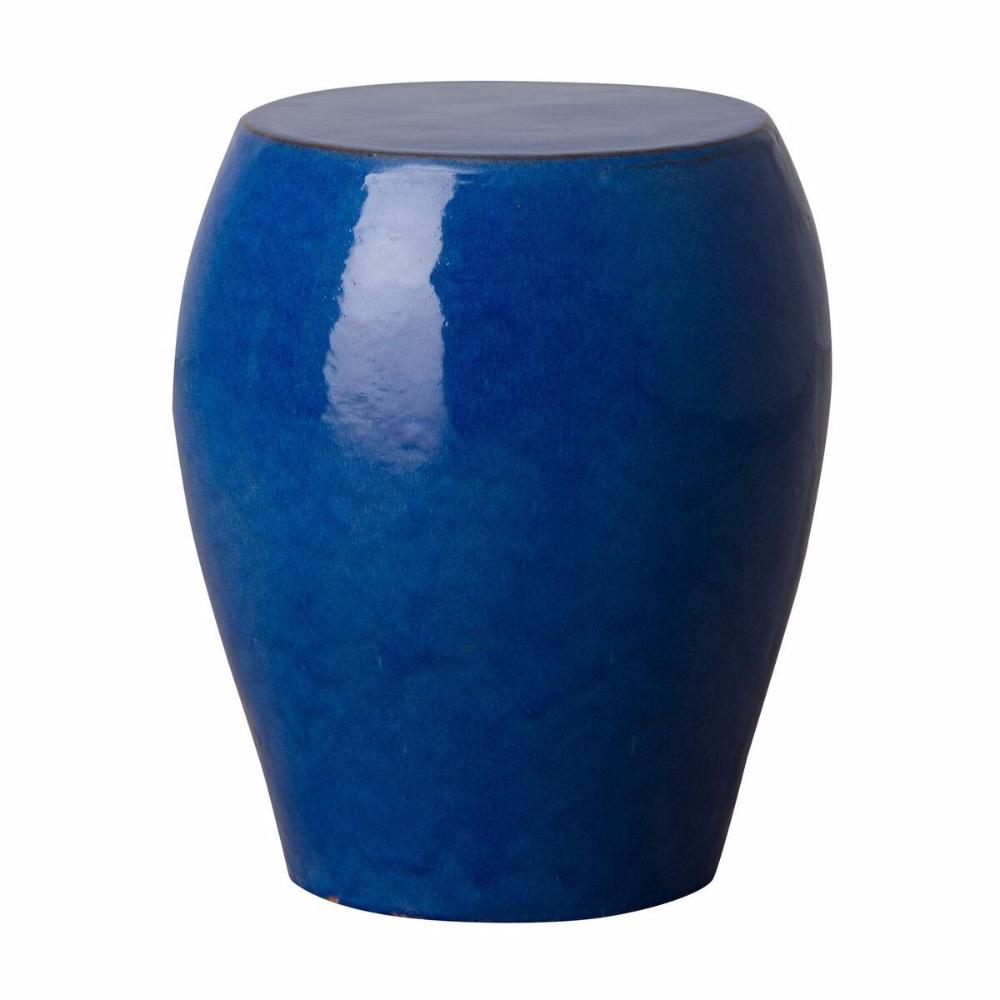 Tapered Garden Stool - Blue