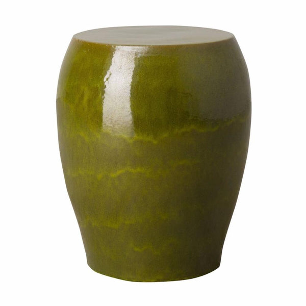 Tapered Garden Stool - Green