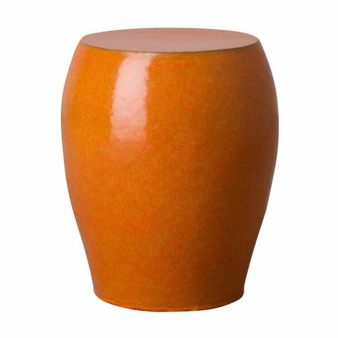Tapered Garden Stool - Orange