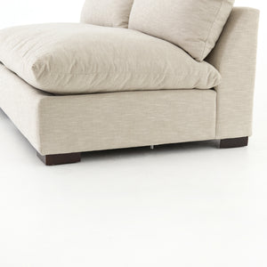 Grant Armless Sofa - Ashby Oatmeal