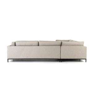 Grammercy 3 Piece Sectional - Natural