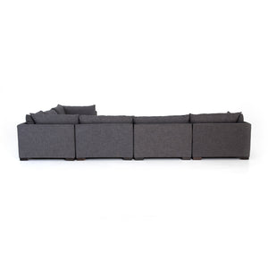 Westwood 6 Piece  Sectional - Bennett Charcoal