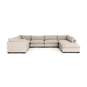 Westwood 7 Piece Sectional With Ottoman Bennett Moon