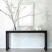 Morris Asian Console Table - Black (21 Finish Options )