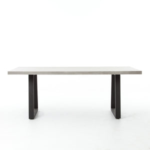 Cyrus Outdoor Dining Table - Grey