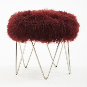 Tibetan Lamb Wave Stool – 7 Colors