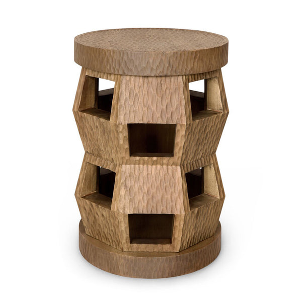 Bungalow 5 Zanzibar Stool/Side Table – Brown