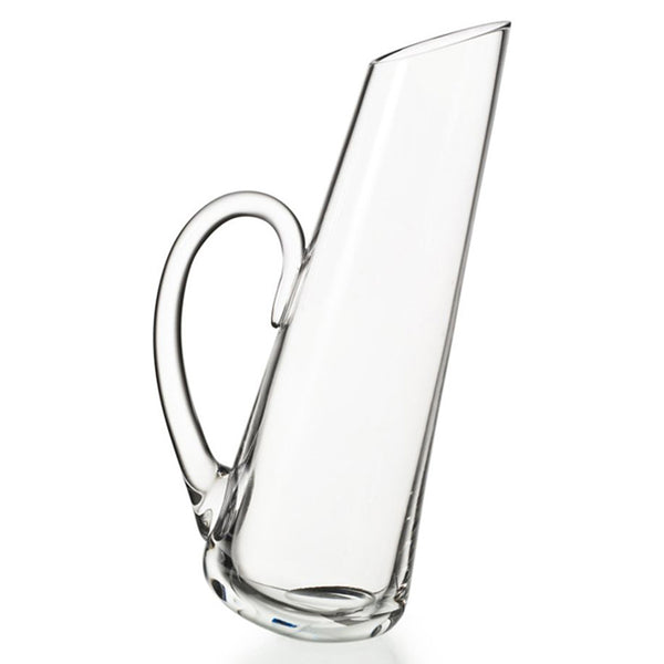 Zanibar Slant Crystal Pitcher