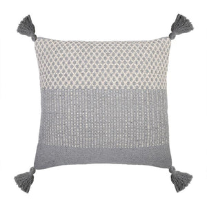 "POM POM AT HOME Pom Pom at Home ALICE HAND WOVEN PILLOW 20"" X 20"" WITH INSERT"