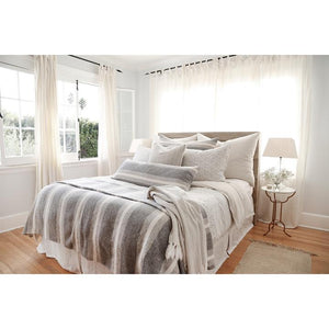 POM POM AT HOME ASPEN-GREY/IVORY-DUVET-COVER