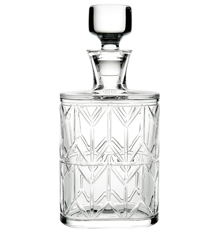 Barware - Hollywood Crystal Whiskey Decanter