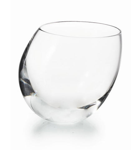 Barware - Petite Crystal Slant Ice Bowl