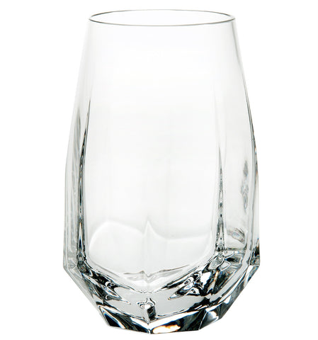 Barware - Set Of 2 Crystal Gemstone Highball Glasses