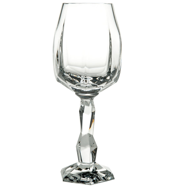 Barware - Set Of 2 Crystal Gemstone Wine Glasses