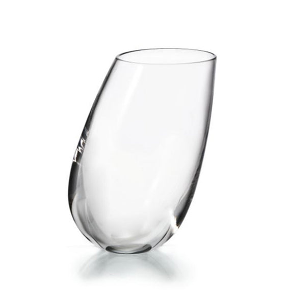 Barware - Set Of 4 Crystal Slant Highball Glasses