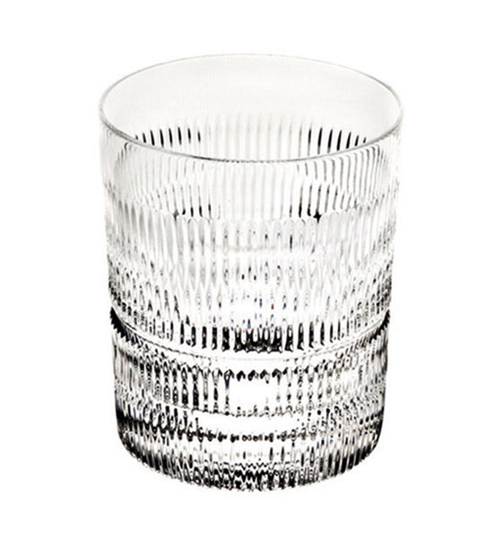 Barware - Set Of 4 Crystal Vendome Linear Double Old Fashioned Glasses