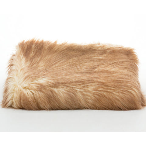 Bedding - Lion's Mane Faux Fur Throw & Coverlet