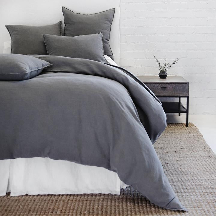 POM POM AT HOME BLAIR-MIDNIGHT-DUVET-COVER