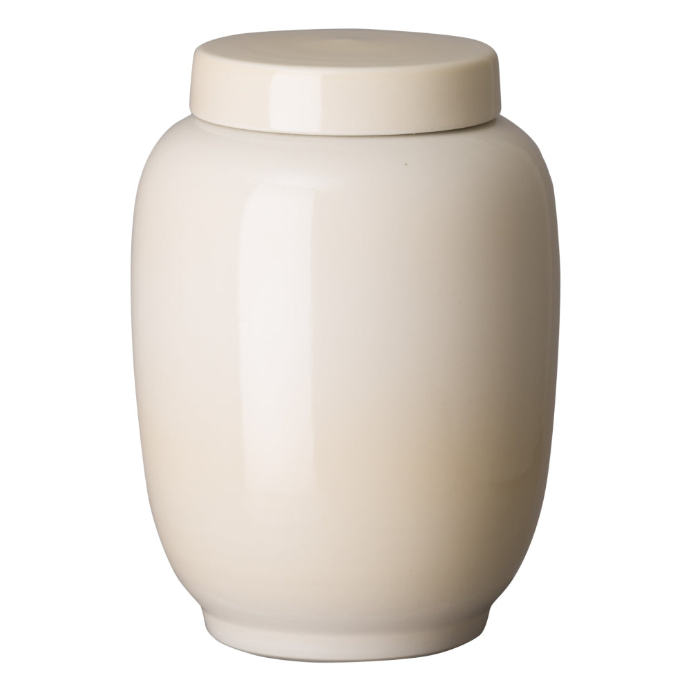 Tall Lantern Ginger Jar – Crystal Oyster
