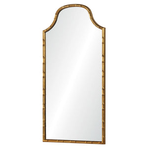 Arched Faux Bamboo Mirror - Available in 2 Finishes
