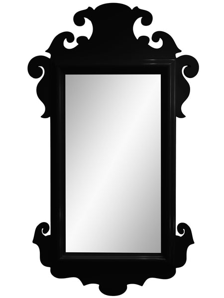 Decor - Charleston Lacquer Mirror - Black (16 Colors Available)