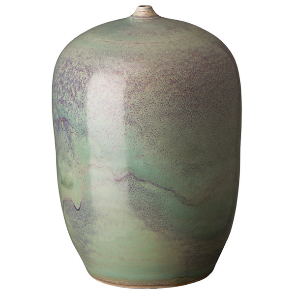 Decor - Cocoon Ceramic Vase- Jade Fusion