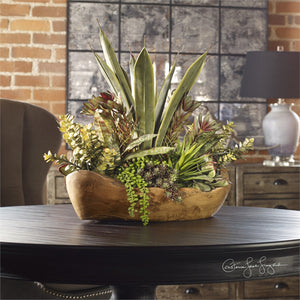 Decor - Faux Succulent Arrangement