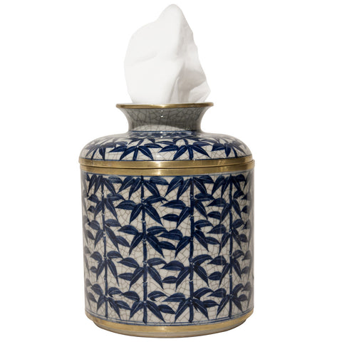 Decor - Palms Tissue Box – Crackle