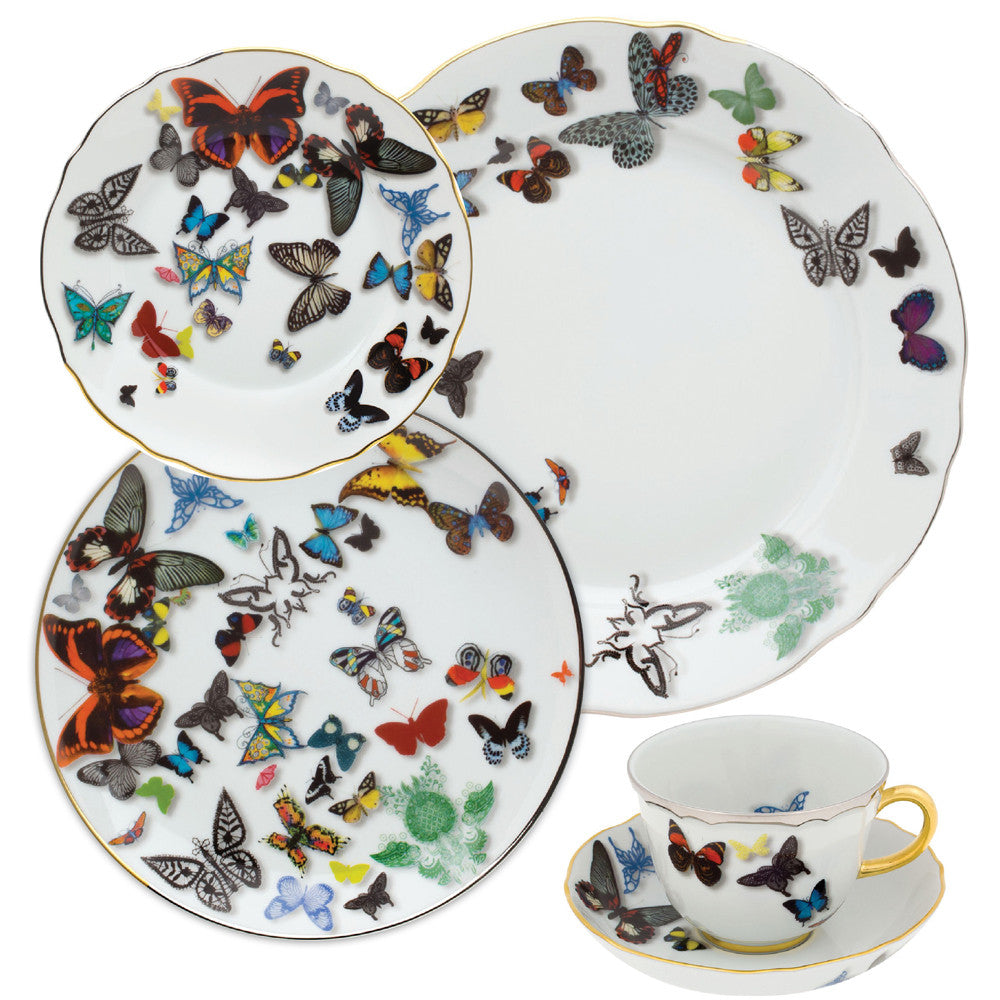 5 Piece Place Setting Christian Lacroix Butterfly Parade