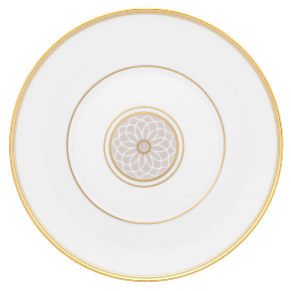 Dinnerware - 5 Piece Place Setting Terrace Dinnerware - Gold & Taupe