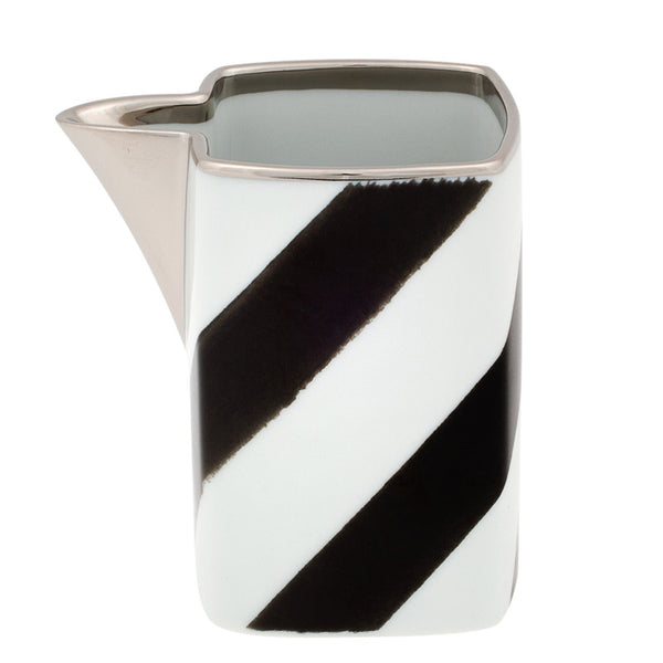 Dinnerware - Christian Lacroix Graphic Stripes Creamer - Black & White