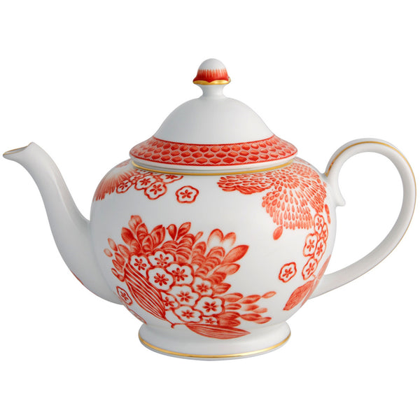 Dinnerware - Coralina Porcelain Tea Pot
