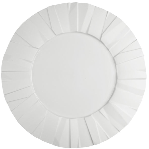Dinnerware - Matrix Dimensional Dinner Plates - White (Sets)