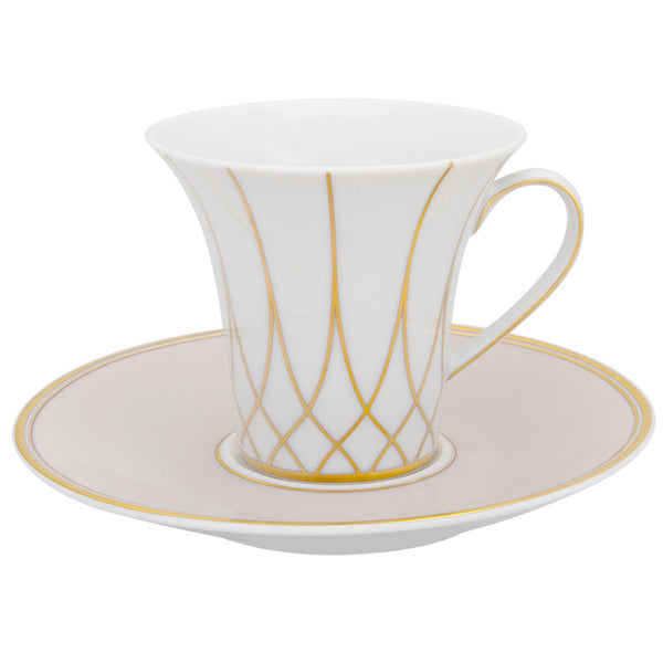 Dinnerware - Terrace Espresso Cup & Saucer - Gold (Sets)