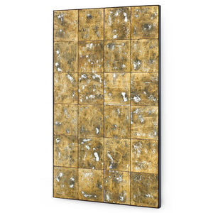 Bungalow 5 Large Gold & Silver Leafed Rectangular Mirror
