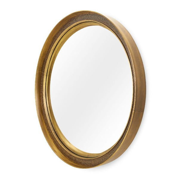 Bungalow 5 DORIAN-Round Convex Mirror with French Frame – Small